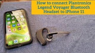How to connect Plantronics Leg…