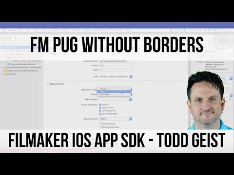 Webinar Making FM Apps for Apple's App Store - FileMaker User Group Meeting Fri Jan 15th