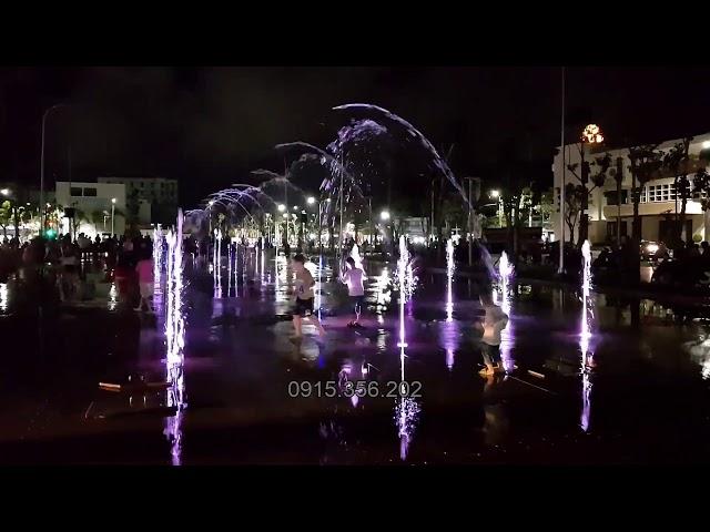 Sàn nhạc nước công viên Diên Hồng - Tp. Tuy Hoà - Phú Yên