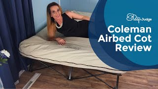 Coleman Airbed Cot Review