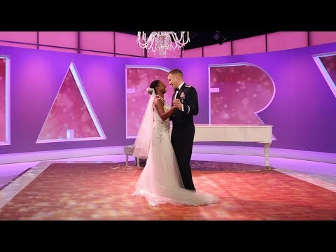 Surprise Military Wedding: First Dance!