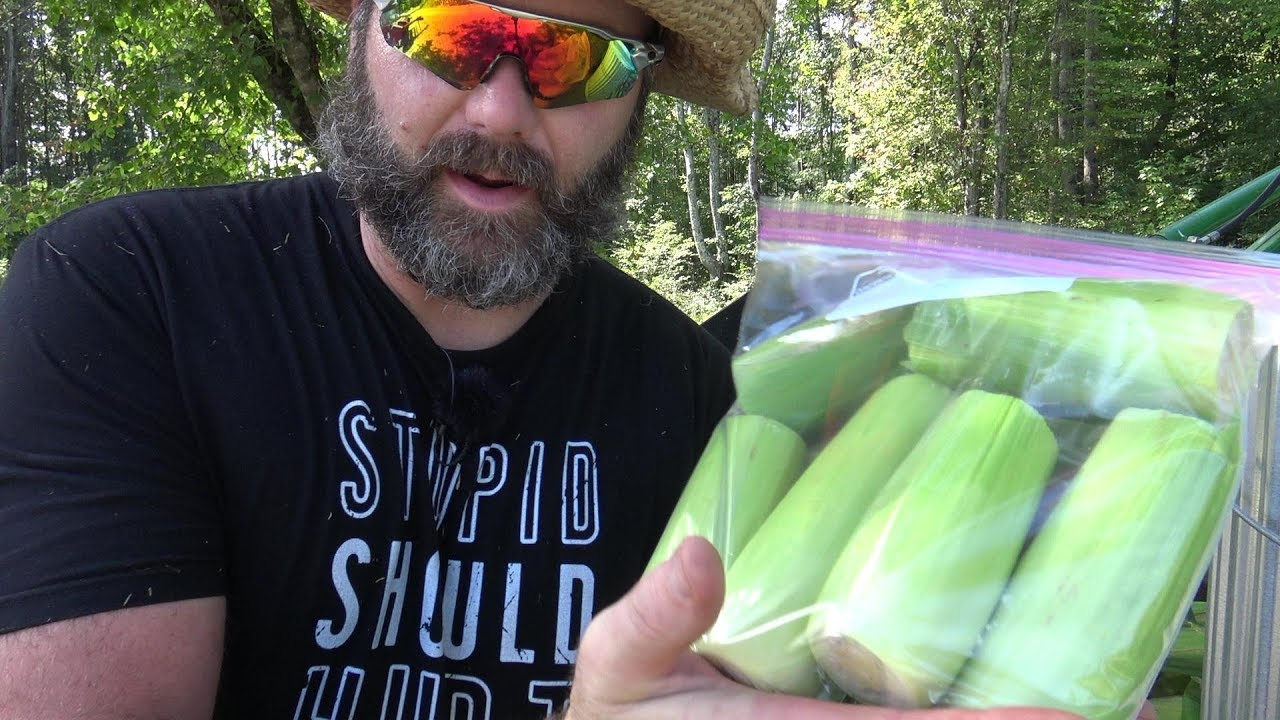 How to freeze corn without blanching