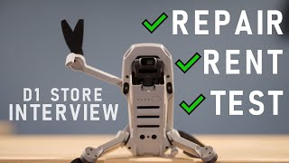 How To Repair Your Drone, Join Pilot Workshops & Rent Drones With D1 Store | DansTube.TV