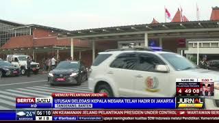 Raja Brunei dan Rombongan Tiba di Soetta