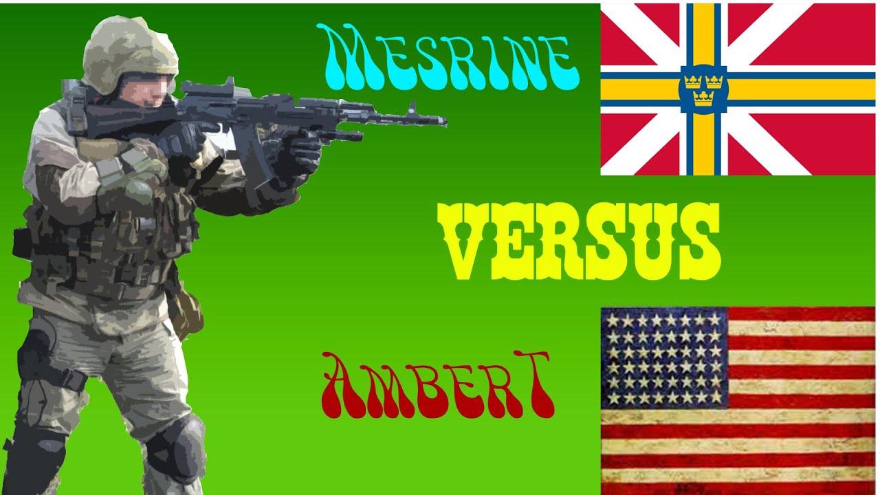 Mesrine Scandinavian Mechanized Vs AmberT US Deck Wargame - Scandinavian museums in us