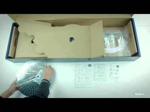 unboxing duschsystem grohe rainshower 310 power soul youtube. Black Bedroom Furniture Sets. Home Design Ideas