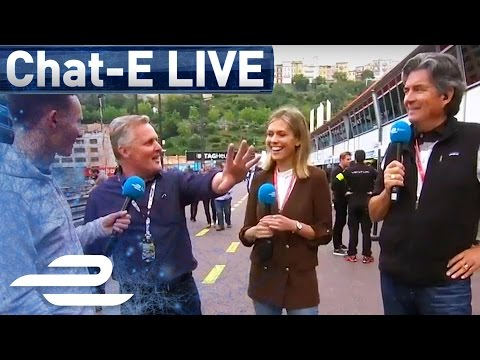 Chat-E Fan Show Live From Monaco Pit Lane - Formula E