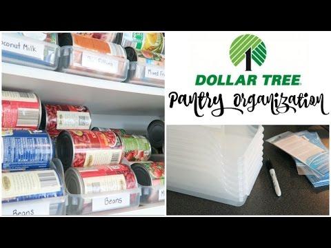 Dollar Tree Organization | Pantry