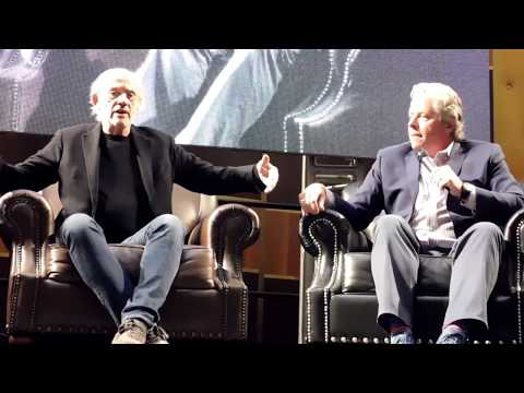 Back to the Future panel with Christopher Lloyd and Tom Wilson (Doc Brown and Biff)
