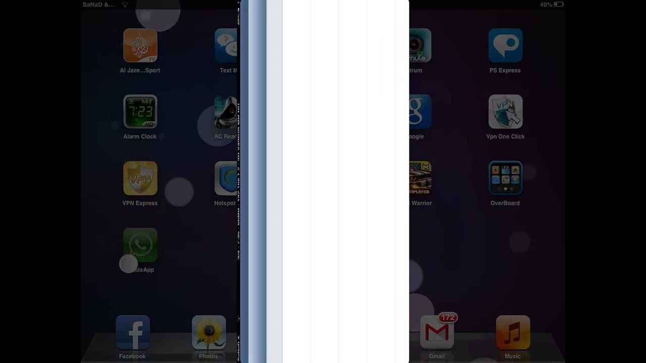 how to install whatsapp on ipad ios 6 and make it full screen HD