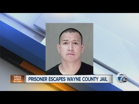 Prisoner escapes from Wayne County Jail