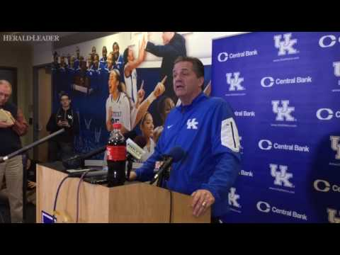 John Calipari on Joe Craft improvements