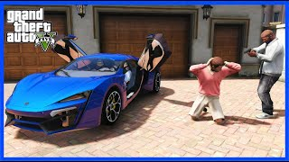 STEALING LUXURY CARS FROM MILLIONAIRES! (GTA 5 Mods)