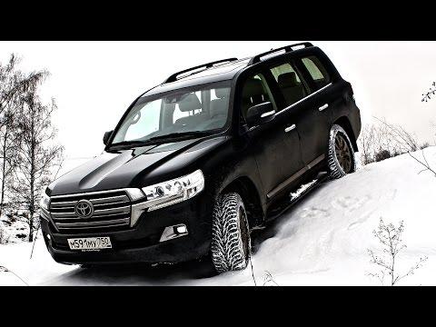 Настолько ли Крузак хорош? Оффроад тест драйв Toyota Land Cruiser 200 дизель (Ленд Крузер 200) 2017