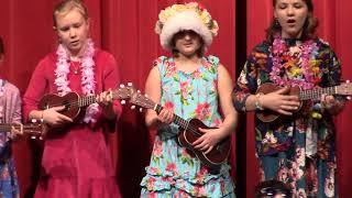 2018 K-4 Haines Schools Christmas Concert - 4th Grade Ukes - Hawaiian Santa