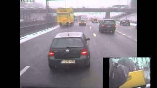 chauffeurtje pesten 1000km file Antwerpen