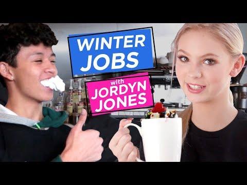 JORDYN JONES BARISTA   Winter Jobs w/ Jordyn Jones