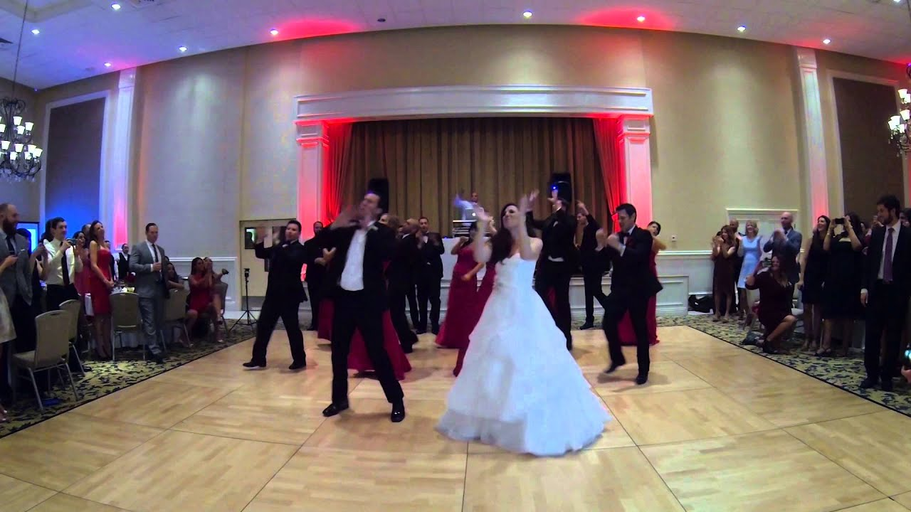 Gina DJs Awesome Surprise Wedding Party Dance To Uptown Funk