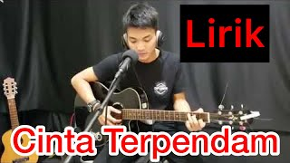 Gambar cover Tri Suaka - cinta terpendam.. (Akustik gitar + lirik).. lagu terbaru dari musisi jogja..