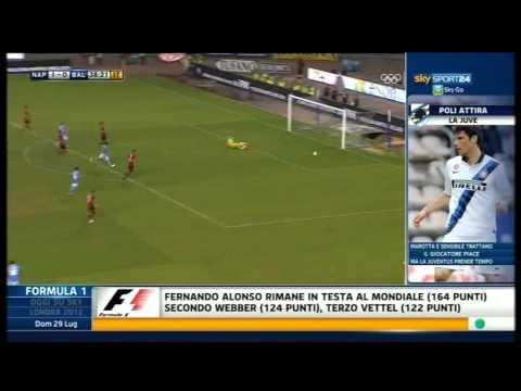 Amichevole Napoli-Bayer Leverkusen 2-1 29/07/12