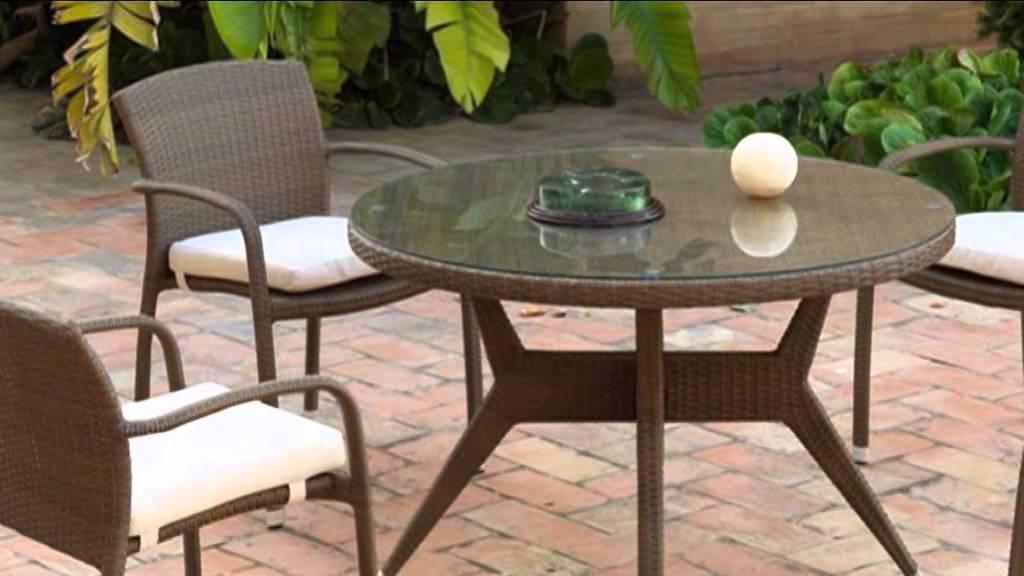 Muebles de terraza y jard n en mbar muebles youtube for Muebles baratos para jardin y terraza