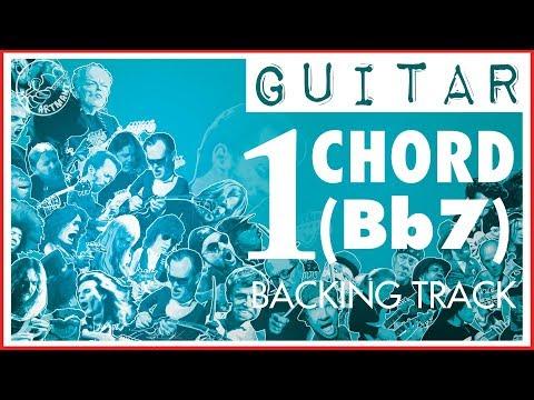 One Chord Backing Track 🎸 Funk in Bb7