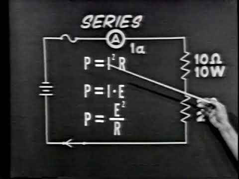 Electricity - Review of Series & Parallel Resistive Circuits (USAF training film) by D.O.D.