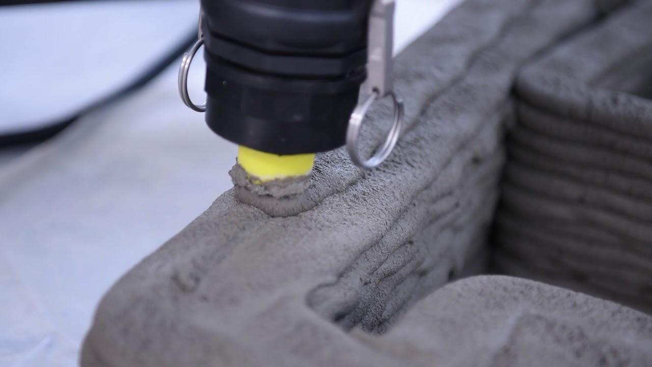 3d printing concrete / Delta WASP 3MT CONCRETE