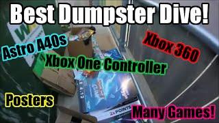 Best GameStop Dumpster Dive Haul Ever! (Astro A40