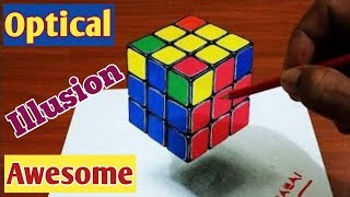 Awesome Optical Illusions || Mind Blowing || - FUNDA Clear Hai