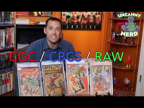 CGC or CBCS or RAW? An Uncanny Guide!