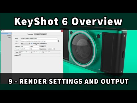 KeyShot 6 Overview: 9 - Render Settings and Output