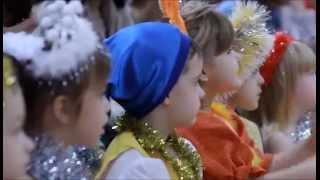 """Детское видео - Новый год в детском саду - Студия """"Трамонтана"""""""