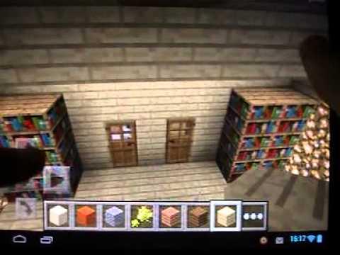 дом в Minecraft Pe 0.12.1