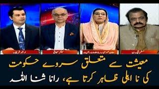 Survey regarding economy proves Govt's incompetence: Rana SanaUllah