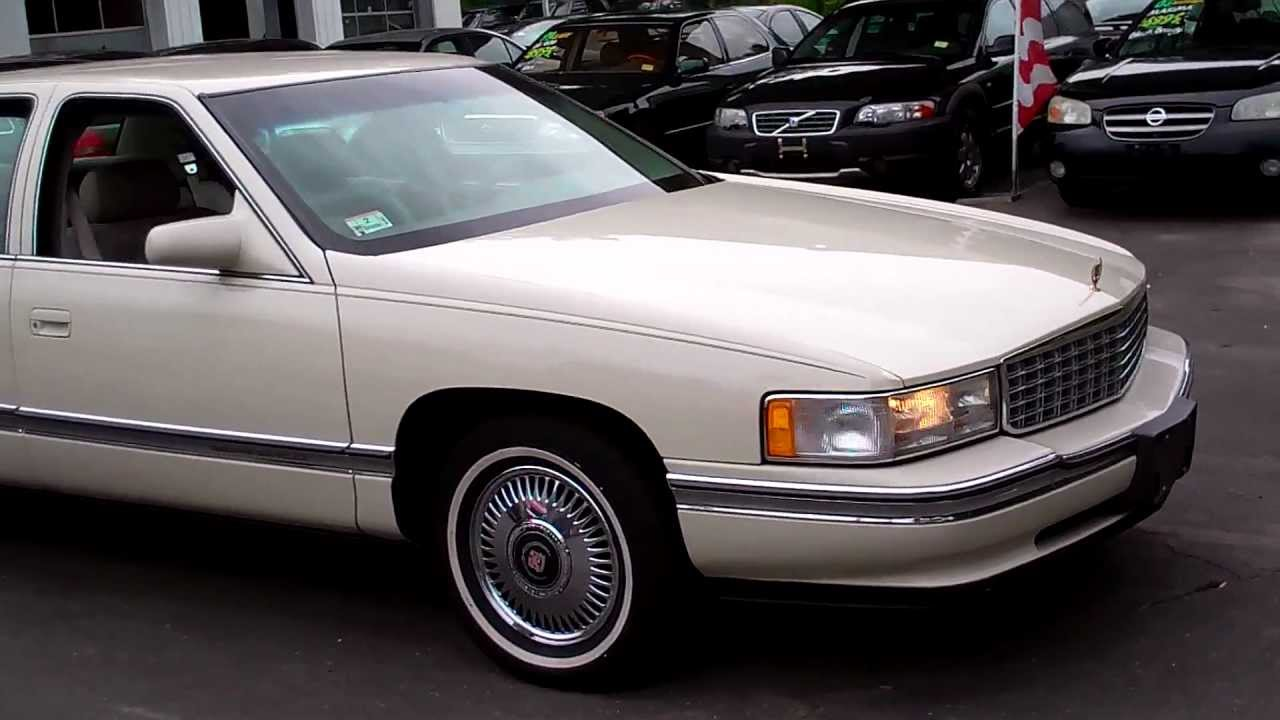 cadillac deville 1995 sedan v8 leather
