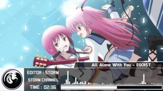 Gambar cover [ NightCore ] All Alone With You ~ EGOIST