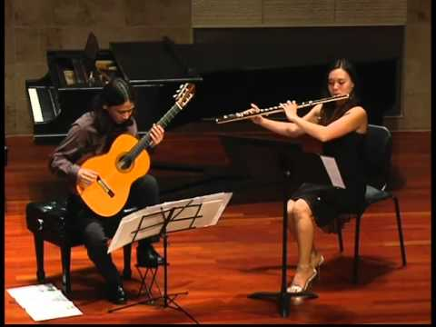 Tracy Goodwin and Ramon Fermin play: Toru Takemitsu - Toward the Sea