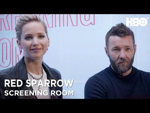 Jennifer Lawrence & Joel Edgerton On Red Sparrow 2018 Movie  HBO
