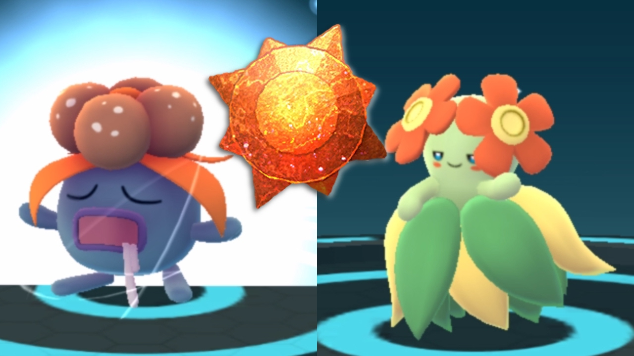 Uncategorized Gloom Pokemon gloom bellossom evolution sun stone go second generation generation