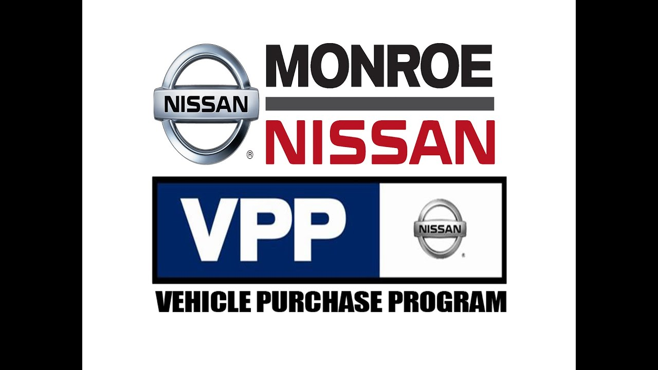 Monroe nissan presents the vehicle purchase program
