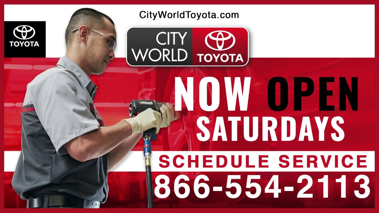 Toyota Service Appointment >> Schedule Your Service Appointment Online At City World Toyota 3860 Boston Rd Bronx Ny 10469