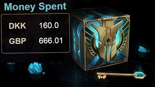 What I learned from spending over 500 dollars on Hextech crates