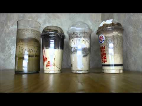 Fast Food Shake Time Lapse - Warning: It's Yucky