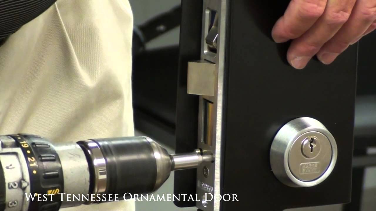 How To Install A Marks Mortise Lock Youtube