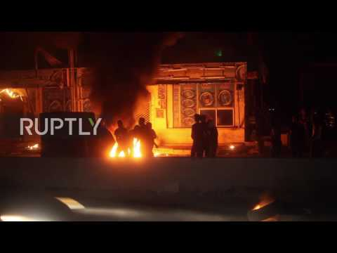 State of Palestine: Protesters clash with Israeli security forces in the West Bank