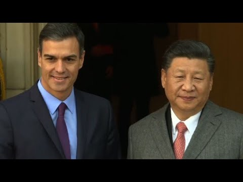 Spain's Sanchez meets Chinese President Xi Jinping in Madrid