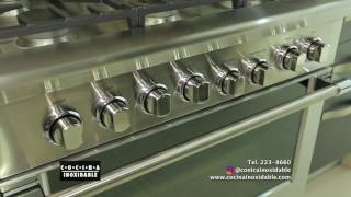 Cocina Inoxidable. Estufas y hornos DCS. Casa Ideal
