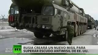 Misiles rusos podrían romper el escudo antimisiles de EE. UU.