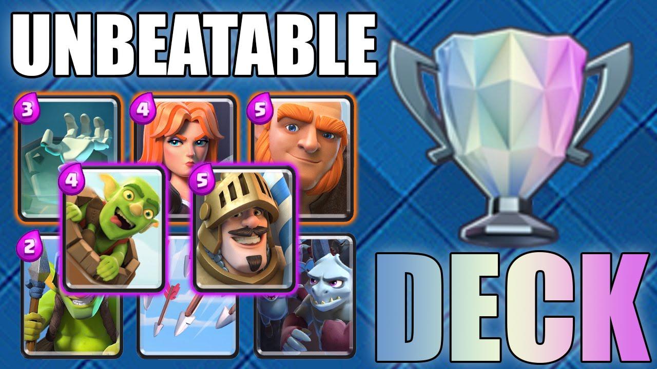 Clash Royale Unbeatable Deck Level 8 Legendary Arena